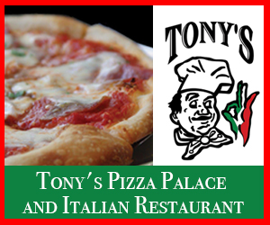 TONYS PIZZA PALACE